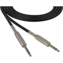 Sescom SC15SZSZ Audio Cable Canare Star-Quad 1/4 Inch TRS Male to 1/4 Inch TRS Male Black - 15 Foot