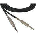 Sescom SC15SZSZ Audio Cable Canare Star-Quad 1/4 TRS Balanced Male to 1/4 TRS Balanced Male Black - 15 Foot