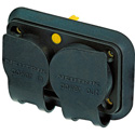 Neutrik SCNAC-PX Cover - powerCON TRUE1 - Duplex Cover