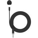Sennheiser MKE Essential Omni Lavalier Mic (Pre-Polar Condenser) w/ 1.6m Cable - XS & Evolution Wireless - Black