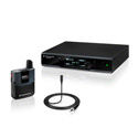 Sennheiser ew D1 Digital Wireless Presenter Set w/ ME2 Omnidirectional Clip-On Microphone - 2.4 Ghz -10mW/100 mW