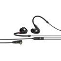 Sennheiser IE 100 PRO In-ear Monitoring Headphones - 10mm Dynamic Transducer & Detachable 1.3m 3.5mm Cable - Black