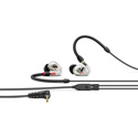 Sennheiser IE 100 PRO In-ear Monitoring Headphones - 10mm Dynamic Transducer & Detachable 1.3m 3.5mm Cable - Clear