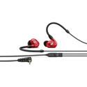 Sennheiser IE 100 PRO In-ear Monitoring Headphones - 10mm Dynamic Transducer & Detachable 1.3m 3.5mm Cable - Red