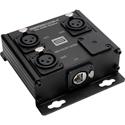 Sescom SES-3XLRF-CATBX 3 Channel Passive Balanced Audio Extender over CAT5/6/7 - RJ45 to 3 Female XLR Connectors