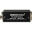 Sescom SES-AES-EBU-1 3-Pin XLR Female to 75 Ohm BNC Female AES/EBU Impedance Transformer