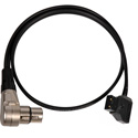Laird SES-DTAP-XLRF4 PowerTap to Right-Angle 4-Pin XLR Female Power Cable - 2 Foot