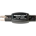 Sescom SES-IL-05DB 3-Pin XLR Male to 3-Pin XLR Female Inline Attenuator - 05db