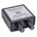 Sescom RCA-LVL-LR Stereo RCA Volume Control with Independent Left-Right Channel Control