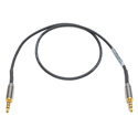 Sescom SES-TRRSMM-01 Premium 3.5mm TRRS Male to TRRS Male Stereo Unbalanced Audio Cable - 1 Foot