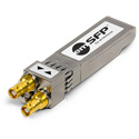 Embrionix EB22HDRTLM0516/OPT1D2022 emSFP HD-BNC Single Channel Receiver with emOPT-1D-2022-6 Installed - MSA10G IP Host