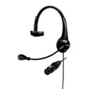 Shure BRH31M-NXLR4F Lightweight Single-Sided Broadcast Headset with Neutrik Female 4-Pin XLR Cable