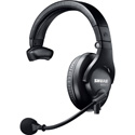 Shure BRH441M-LC Single-Sided Broadcast Headset Less Cable