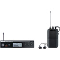 Shure PSM 300 Stereo Personal In Ear Monitor System with SE112-GR Earphones - G20 Band 488.15 - 511.85 MHz