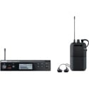Shure PSM 300 Stereo Personal In Ear Monitor System with SE112-GR Earphones - J13 Band 566.17 - 589.85 MHz