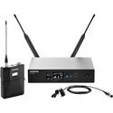 Shure QLXD14/83-H50 Digital Wireless Mic System with WL183 Lav Mic 534-598MHz