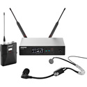 Shure QLXD14/SM35-G50 QLX-D Headworn Microphone System - (470 - 534 MHz)