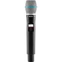 Shure QLXD2/Beta 87C-H50 Handheld Transmitter with Beta87C Microphone - (534 - 598 MHz)