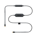 Shure RMCE-BT1 Bluetooth Enabled Remote plus Mic Accessory Cable for Most SE Earphones - Rechargeable Li-ion Battery