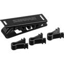 Shure RPM150TC Multi-Position Tie Clip for MX150 Subminiature Lavalier Microphone - Black (Pack of 3)