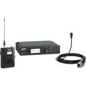 Shure TwinPlex ULX-D Low-Sens Omni Lavalier Wireless Kit - Black - G50 - 470-536MHz