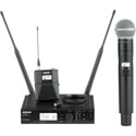 Shure ULXD124/85 Handheld/Lavalier Combo Wireless Microphone System Band G50 - (470 - 534 MHz)