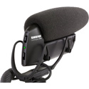 Shure VP83 LensHopper Camera-Mount Shotgun Condenser Microphone