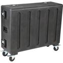 SKB 1RMQU32-DHW Rolling Mixer Case QU32 w/doghouse
