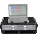 SKB 1SKB-ISF2U Injection Molded 2U Studio Flyer Rack Case