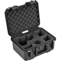 SKB 3I-13096SLR1 iSeries Case for (1) DSLR with Attached Lens Additional Lens Pockets Accessories