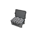 SKB 3i-2617-12BD Pro Audio Utility Case w/ Padded Divider -Wheels