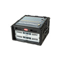 SKB 1SKB-R104 Roto Rack 10U Top & 4U Front Rack Console