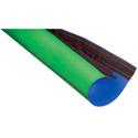 Techflex Studio Key Sleeve Reversible Chroma Key Green/Blue Keyable Sleeve 10ft