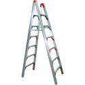 GPL SLD-D6 6Ft Folding Double-Sided Ladder with Type II 225lb Rating