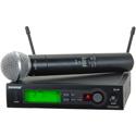 Shure SLX Wireless System SM58 Handheld Mic - H5 518-542 MHz