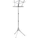OnStage Foldable Music Stand - Nickel