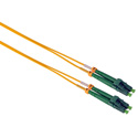 Camplex SMD9-ALC-ALC-005 APC LC to APC LC Singlemode Duplex Fiber Optic Patch Cable  - Yellow - 5 Meter
