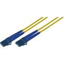 100-Meter 9u/125u Fiber Optic Patch Cable Singlemode Duplex LC to LC - Yellow