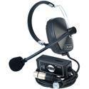 Clear-Com SMQ -1 Single Ear Headset Belt pack Combination