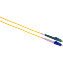 Camplex SMS9-ALC-LC-003 APC LC to UPC LC Singlemode Simplex Fiber Optic Adapter Cable  - Yellow - 3 Meter