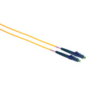 Camplex SMS9-ASC-ASC-005 APC SC to APC SC Singlemode Simplex Fiber Optic Patch Cable  - Yellow - 5 Meter