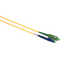 Camplex SMS9-ASC-LC-003  APC SC to UPC LC Single Mode Simplex Fiber Optic Adapter Cable  - Yellow - 3 Meter