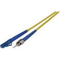 2-Meter 9u/125u Fiber Optic Patch Cable Singlemode Simplex ST to LC - Yellow