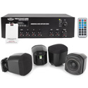 Pure Resonance Audio SMSS-4S3MA30BTPRIVACYWHT Sound Masking System with 4 S3 Wall Mount Speakers - White