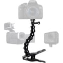 Stage Ninja CAM-12-CB Camera/Recording Device Stand with Gooseneck on Steel Clamp