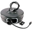 Stage Ninja CAT6-65-S Retractable CAT6 Cable Reel - Black - 65 Foot