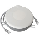 Stage Ninja MED-15-CAT6 Retractable CAT6 Shielded Cable Reel in Housing with Antimicrobial Agent - Gray - 15 Foot