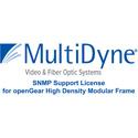 MultiDyne SNMP-OGX SNMP option for OGX Frames