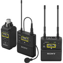 Sony UWPD26/25 UWP-D Bodypack Plug On Receiver Package - 536.125 MHz to 607.875 MHz