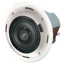 Speco SP6NXCTUL 6.5-In Metal Backcan Speakers w/70V Transformer & Bracket - Pair